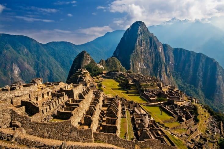 Les ruines de Machu-Picchu