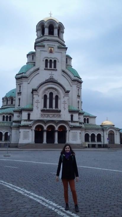 Cathédrale orthodoxe Alexandre-Nevski (dédiée aux Russes à l'indépendance)