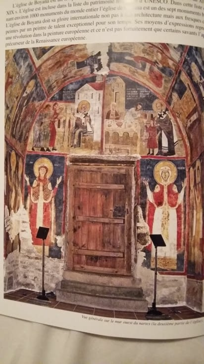 Photo de photo de l'intérieur : les émouvantes fresques du XIIIe siècle