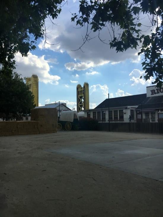 Place d'Old Sacremento et Tower Bridge
