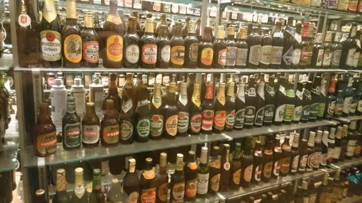 Collection de bouteilles
