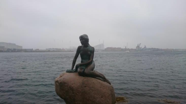 Statue de la petite sirène