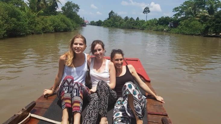 Les divas sur le bateau