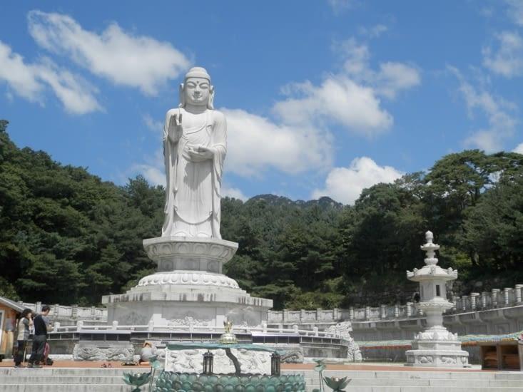 Plus grand Bouddha du monde, d'après une indication