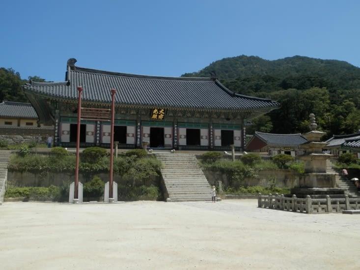 Un temple à Hae-in-sa