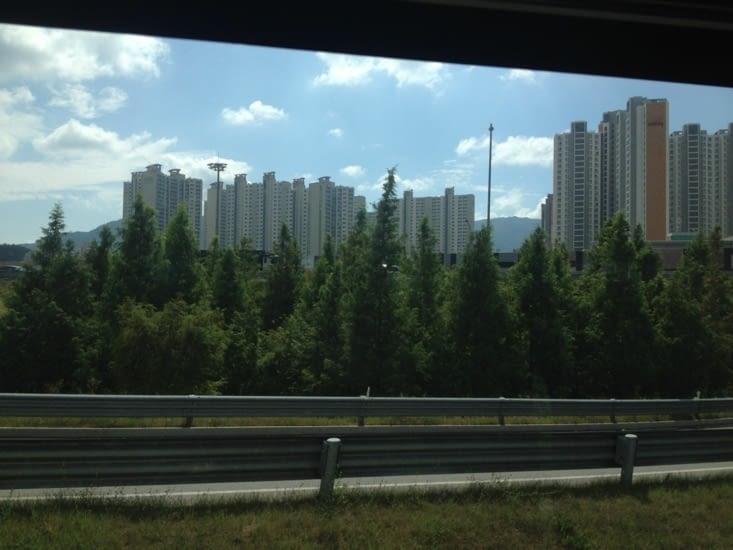 Une cité de Daegu