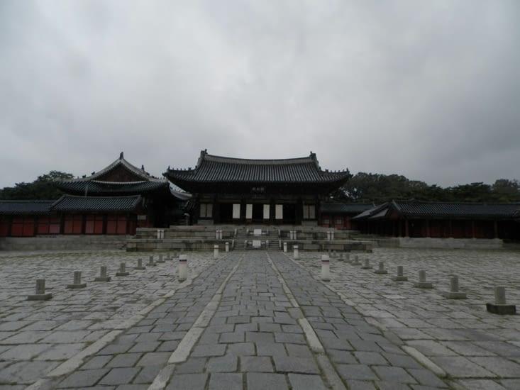 Changdeokgung sous la pluie