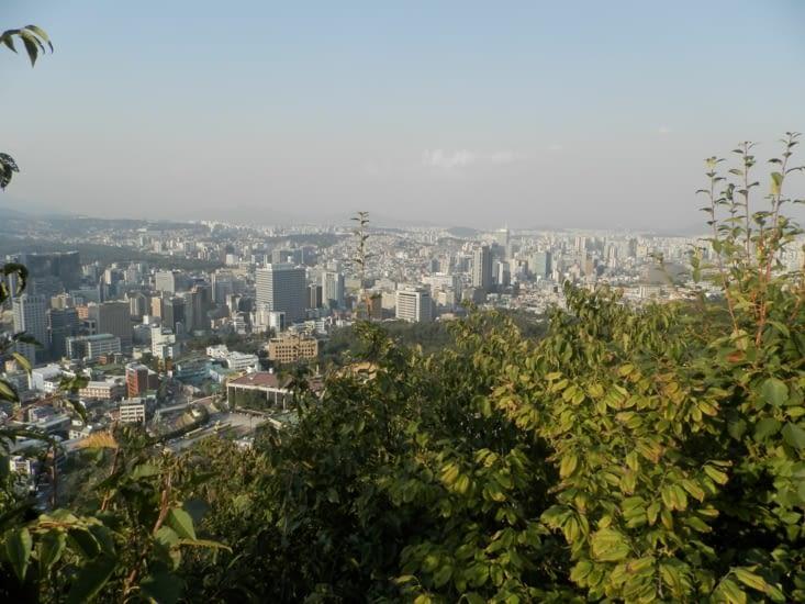 En montant au mont Namsan