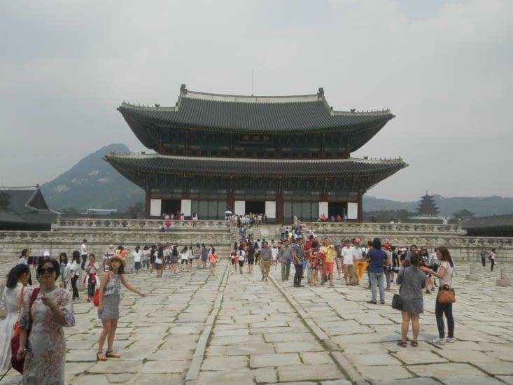 Le palais de Gyeongbokgung