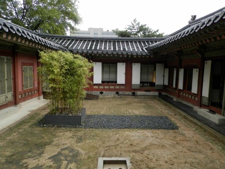 Un bâtiment dans le complexe de Changdeokgung