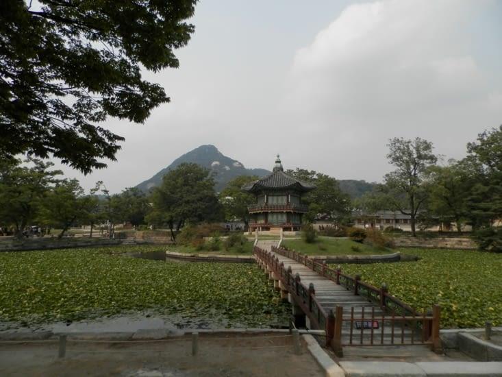 Un bâtiment de Gyeongbokgung