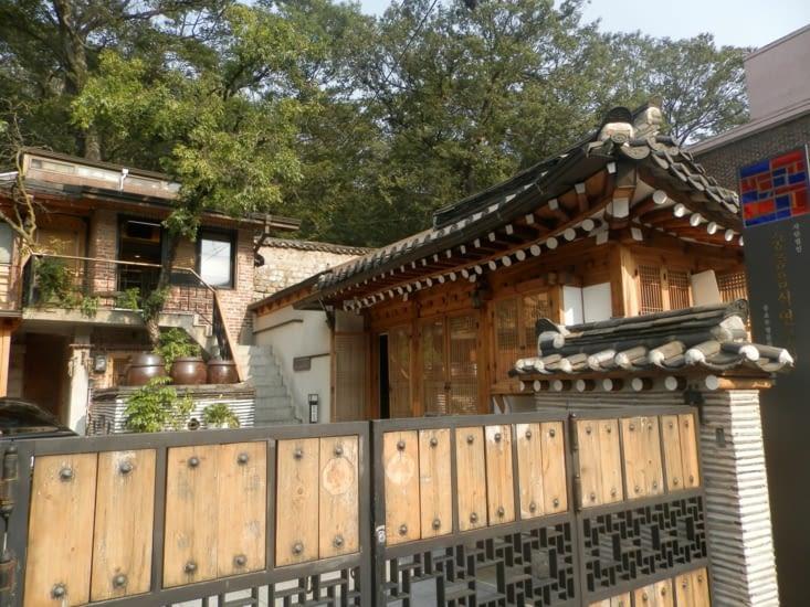 Une maison au hanok