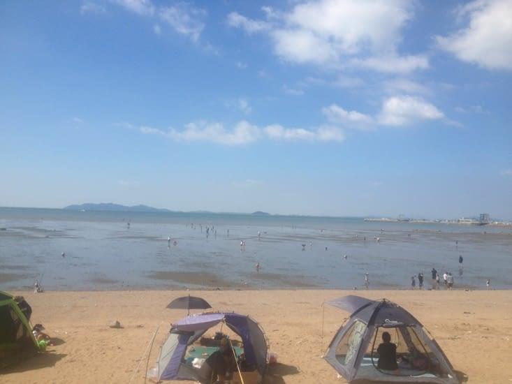 La plage de Daebudo