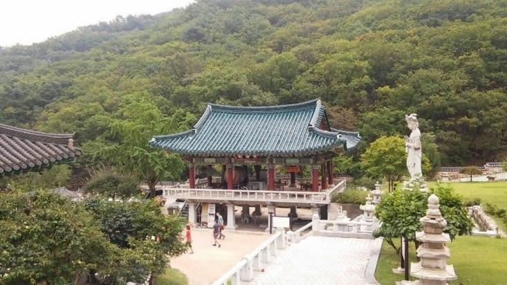 Un temple lors de la randonnée