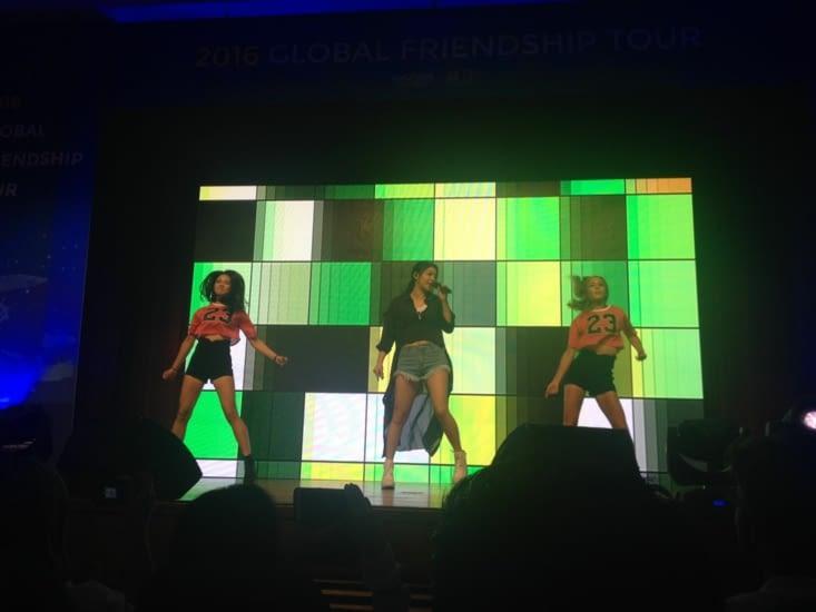 Ailee sur scène