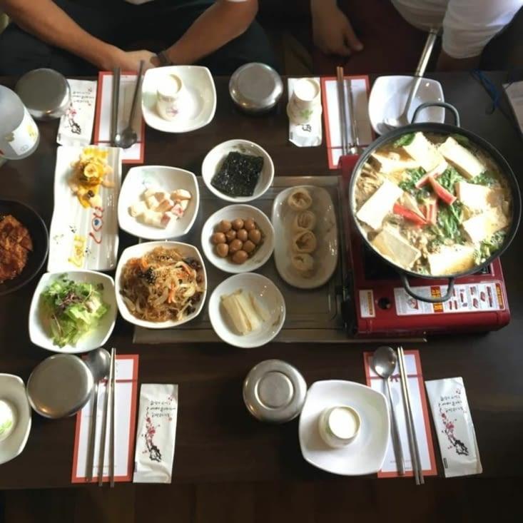 Un repas traditionnel