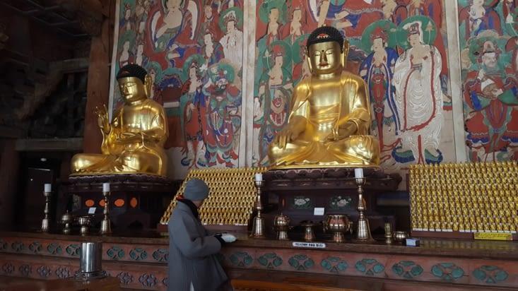 Le moine qui nous accompagnait