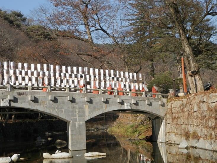 Les moines revenant de prière