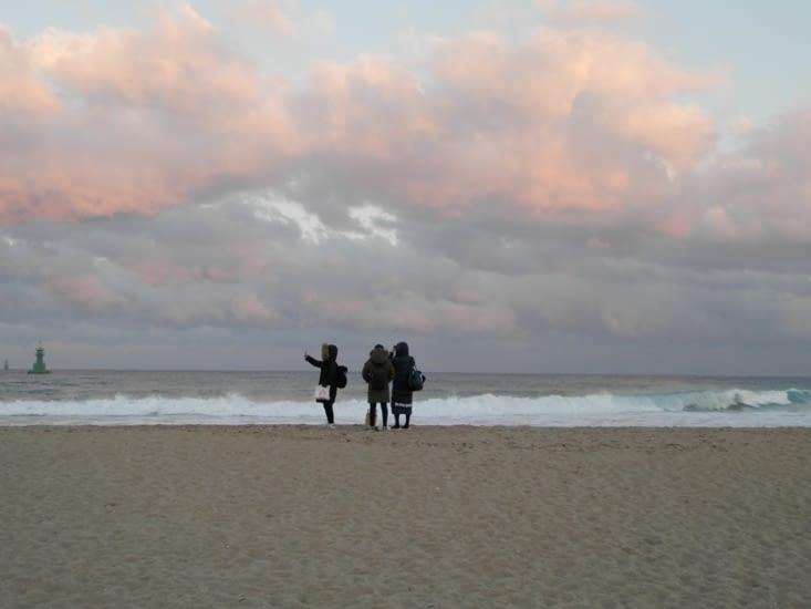 Dernier moment sur la plage