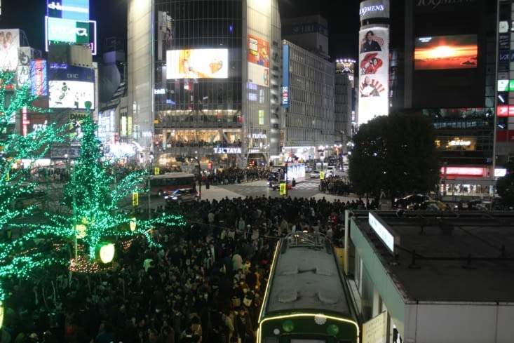 Le croisement de Shibuya...