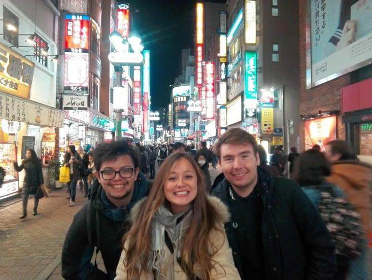 Shibuya la nuit