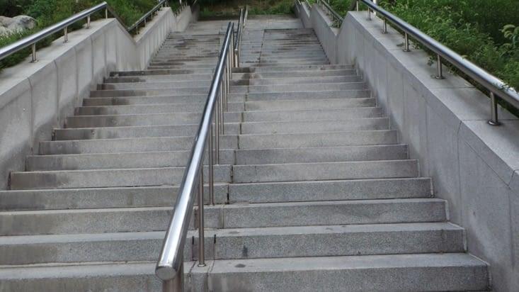 Les escaliers de la mort..