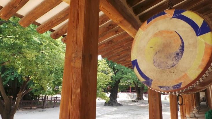 Le symbole du Confucianisme (figurant aussi sur le drapeau Coréen)