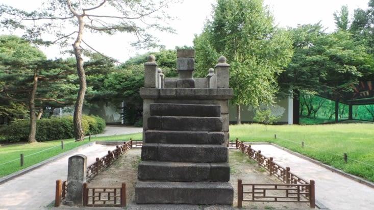 """Un des """"observatoires"""", où les étoiles étaient taillées dans la pierre pour indiquer leurs positions au cours du temps."""