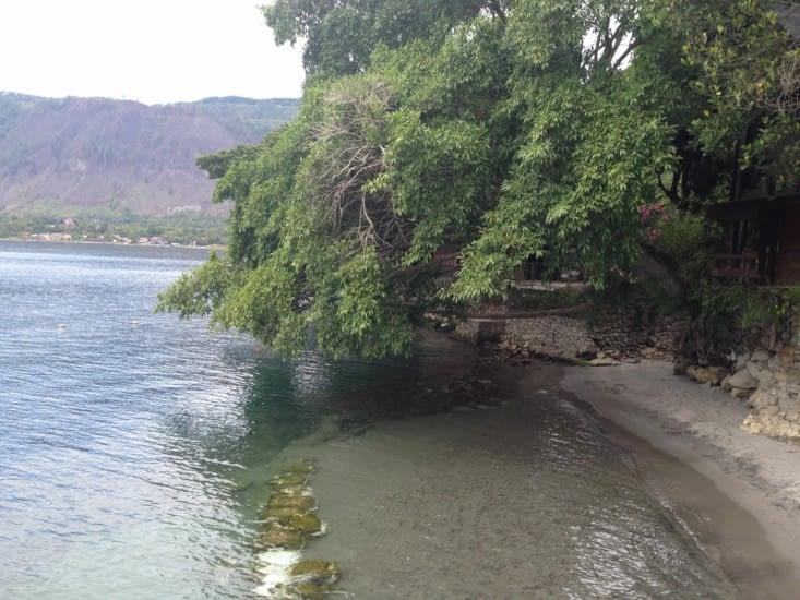 Petite plage pour aller se baigner