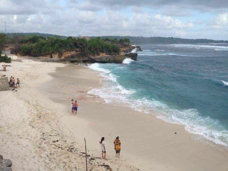 Dream beach et ses énormes rouleaux