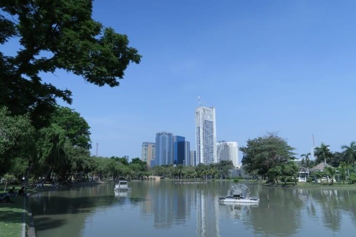 Bangkok depuis le Chatuchak Park 2