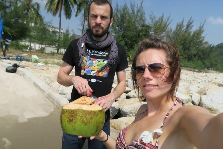 Pause coco sous les cocotiers !