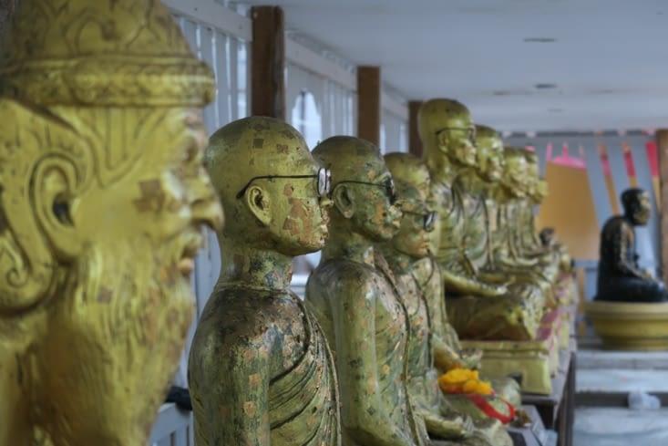 Temple sur Khao Sam Roi Yot