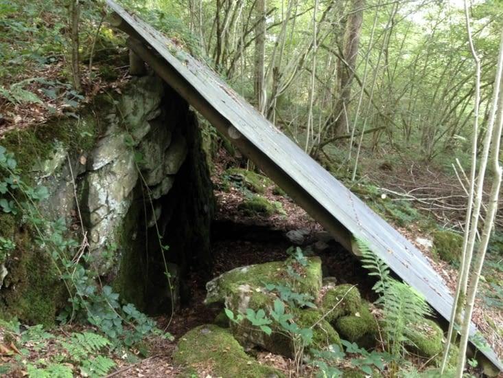 Cave pour les vivres