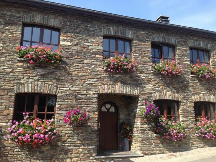 Exemple de maison typique d'Ardenne