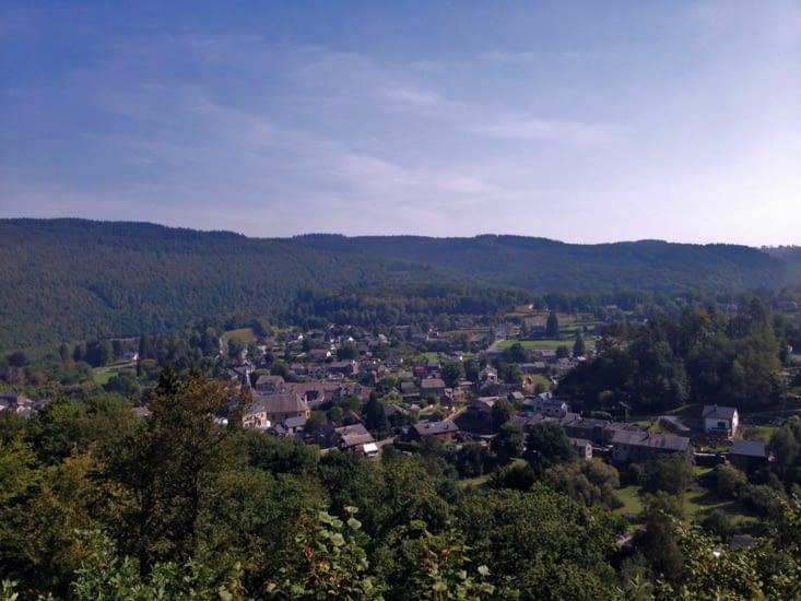 Point de vue sur le village