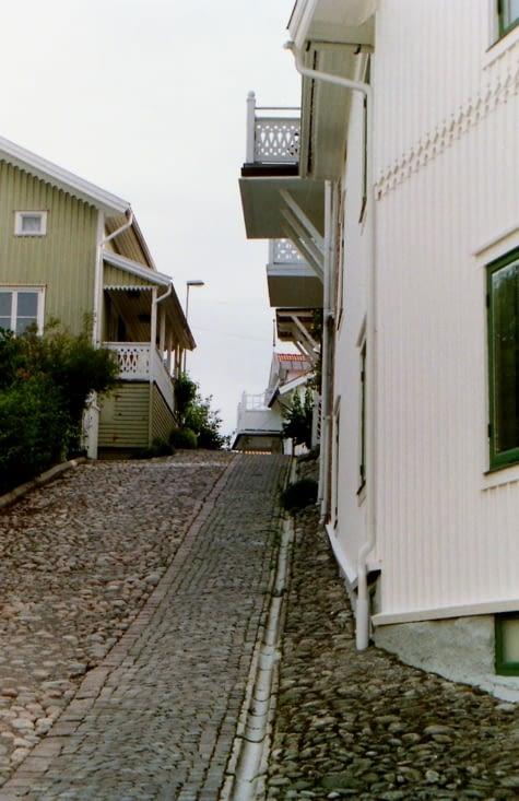"""""""L'autre"""" Marstrand, la partie de la ville interdite aux véhicules"""