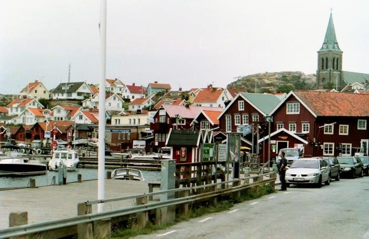 Fjälbacka et Fiskebäcksil sont de très beaux villages de pêcheurs