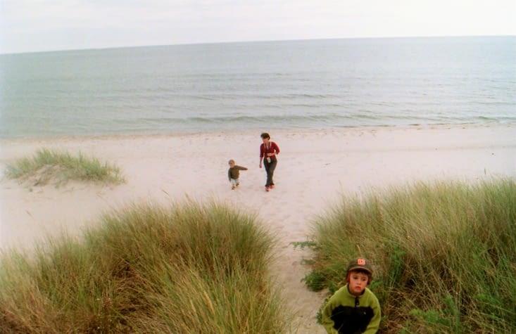 Une plage de sable fin à perte de vue