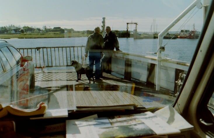 A bord du plus vieux ferry en bois du Danemark