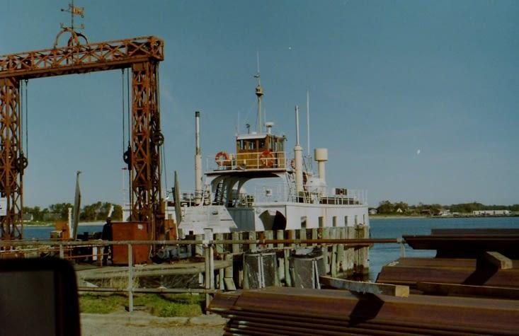 Le plus vieux ferry en bois du Danemark