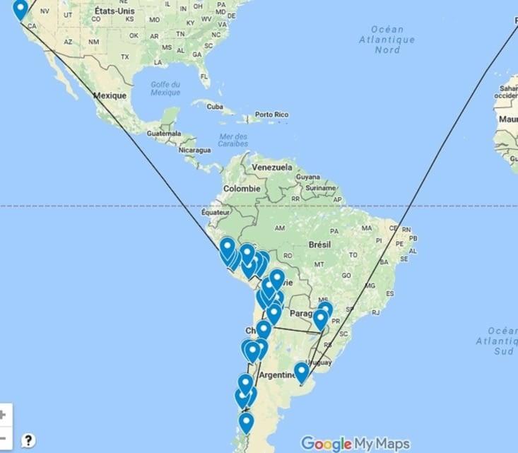 Plan de route