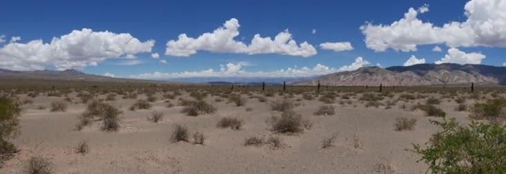 Seuls dans le désert !