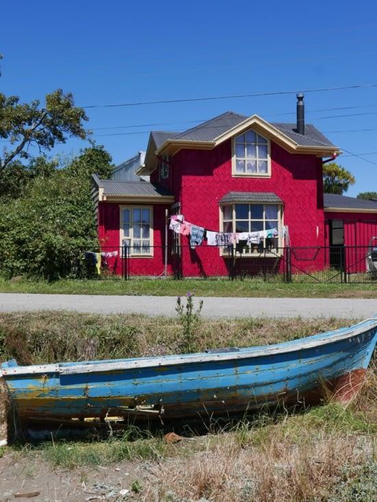 Ah Chiloé et ses maisons colorées, on s'en lasse pas