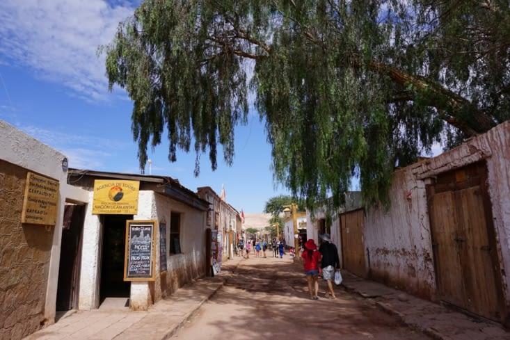 San Pedro de Atacama et ses ruelles