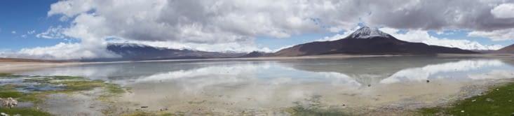 Panorama laguna blanca