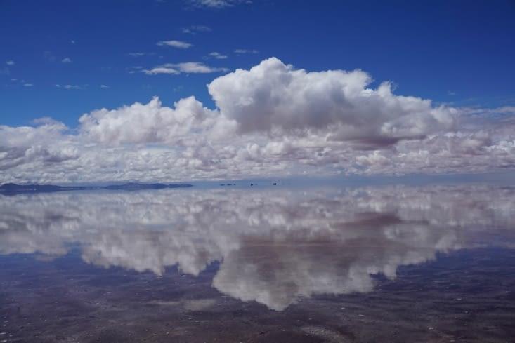 Salar Uyuni : effet miroir