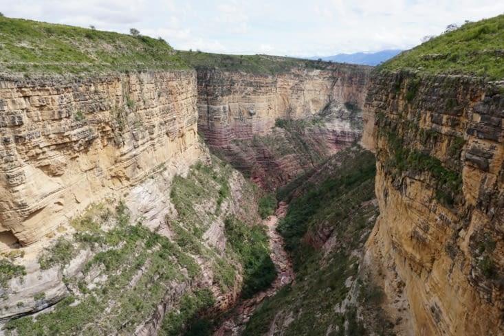 Canyon de Torotoro : El Vergel !