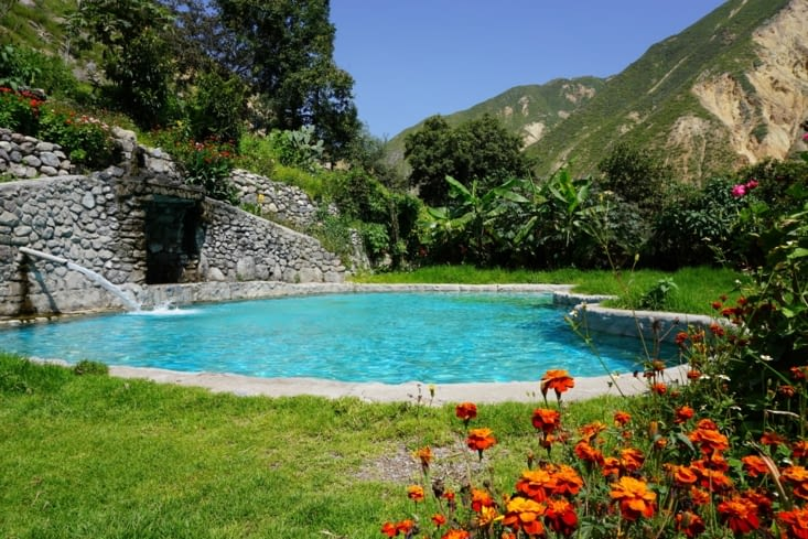 La piscine de notre Hostal