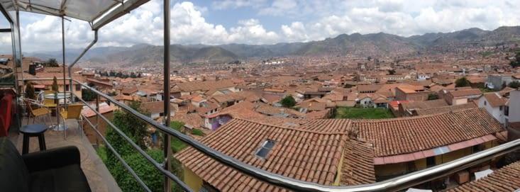 Sur les toits de Cusco